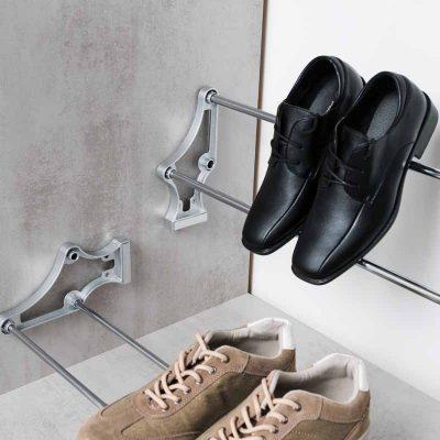 Schuhhalterung im Schrank