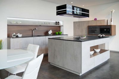 Küche Arcos in Betonoptik