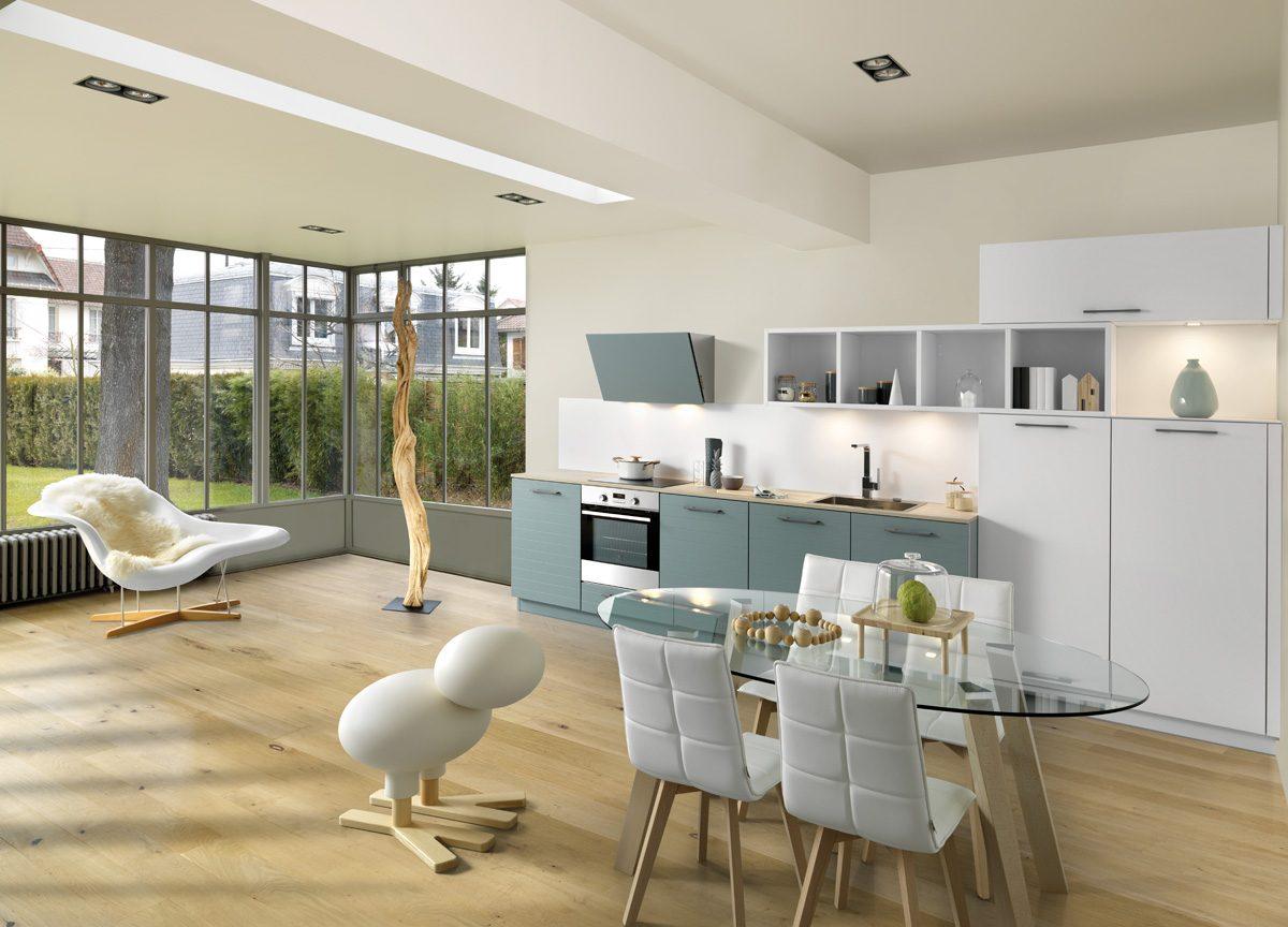 Küchenkomination Arcos & Multiway Green Tea