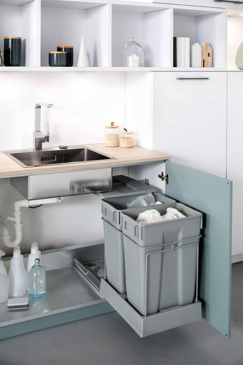 zweifachm lltrenn system schmidt k chen und wohnwelt in dresden. Black Bedroom Furniture Sets. Home Design Ideas