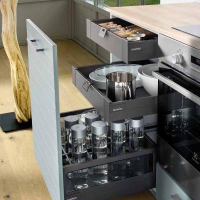 Praktischer Stauraum in Ihrer Küche