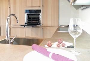 Küche Dakota - Detail mit Backofen