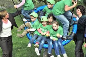 viel Spaß zur Eröffnung des SOS-Kinderdorf in Gera