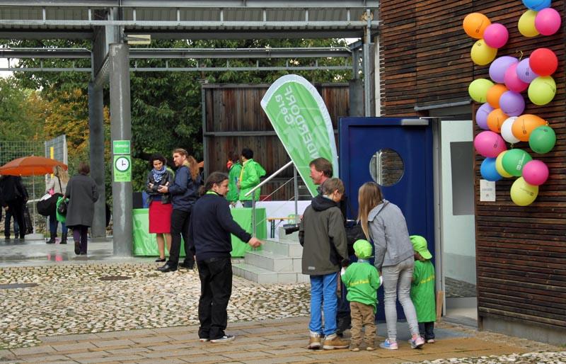 das Interesse war groß - Eröffnung SOS-Kinderdorf in Gera