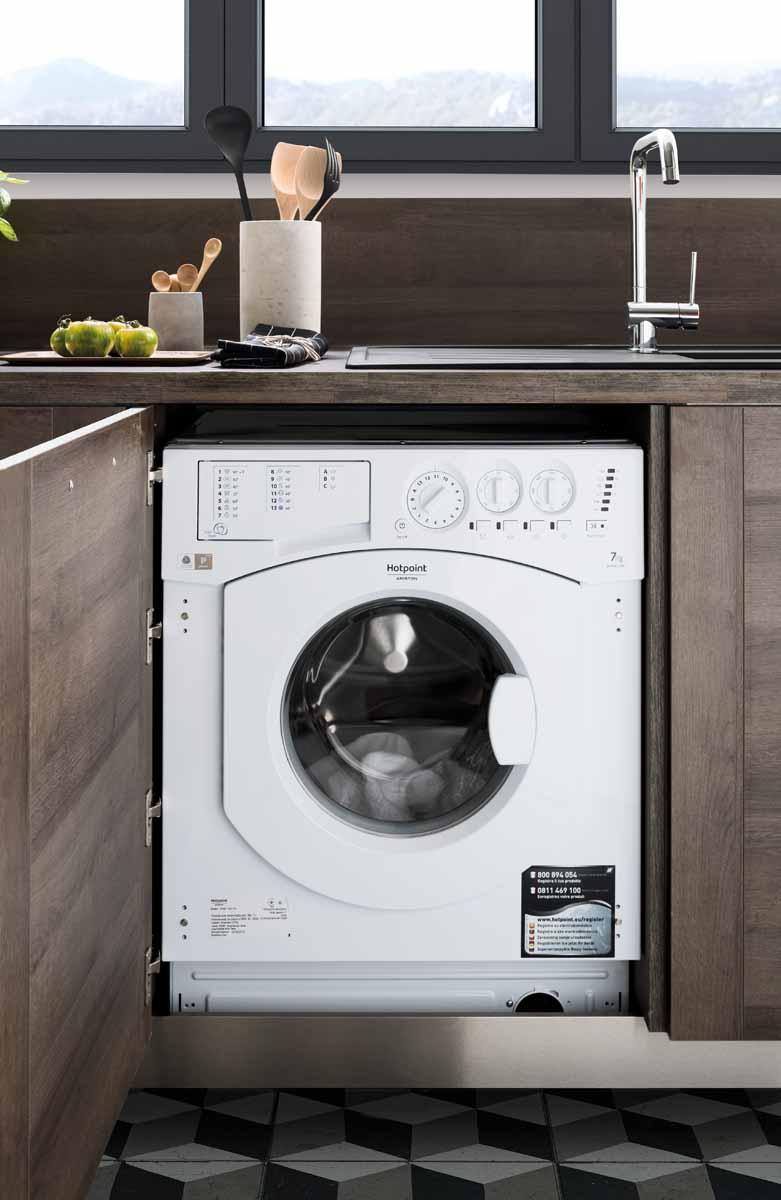 eingebaute waschmaschine schmidt k chen und wohnwelt in. Black Bedroom Furniture Sets. Home Design Ideas