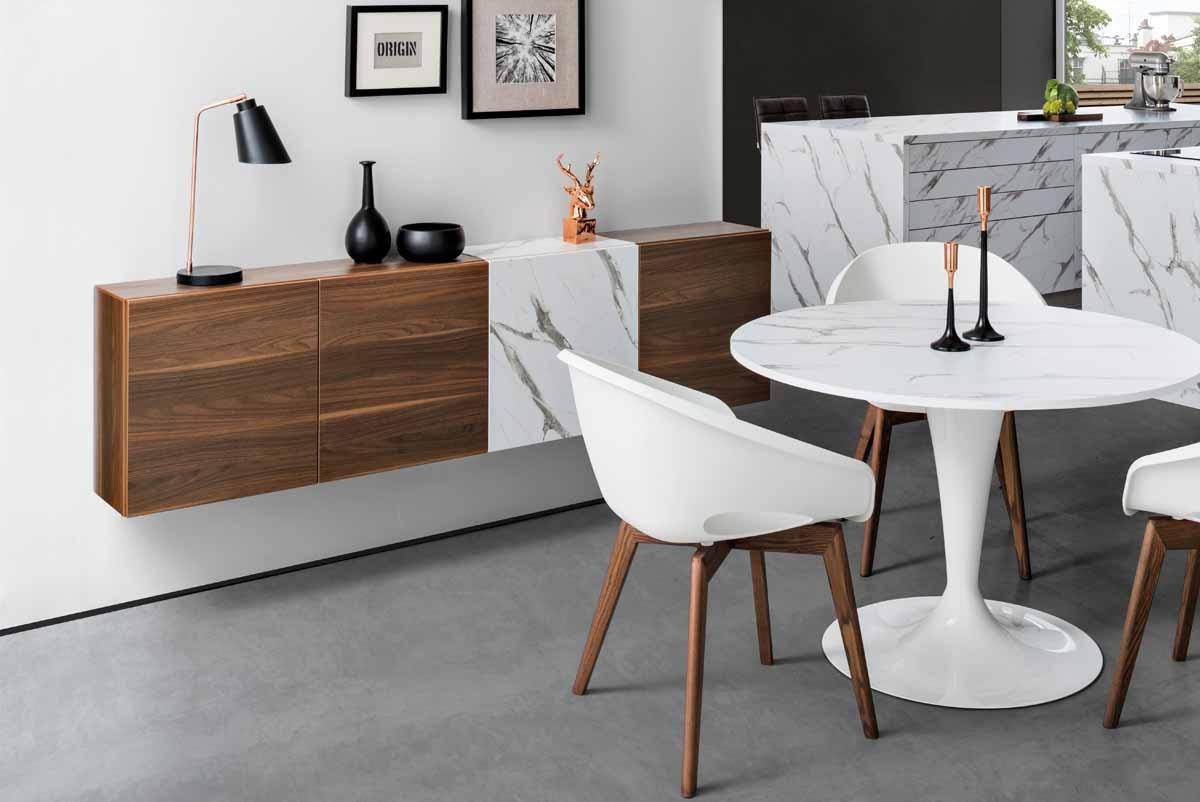 Tisch Calice und Lowboard