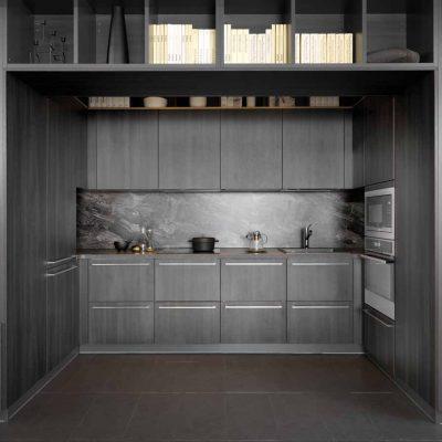 Blick in die verborgene Küche