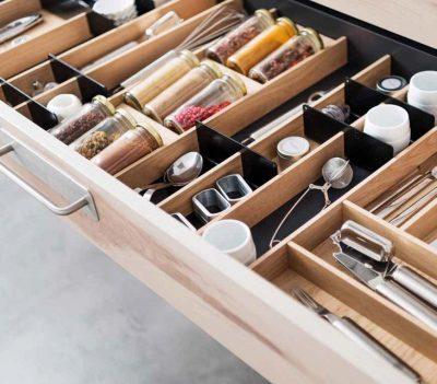 Stauraum für Küchenschubladen - Foto: SCHMIDT