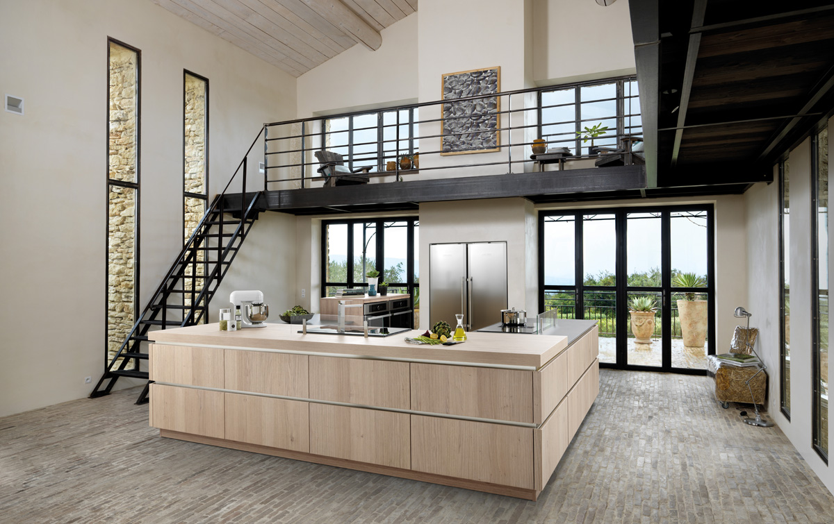 k che major eolis teinte pastel oak schmidt k chen und. Black Bedroom Furniture Sets. Home Design Ideas