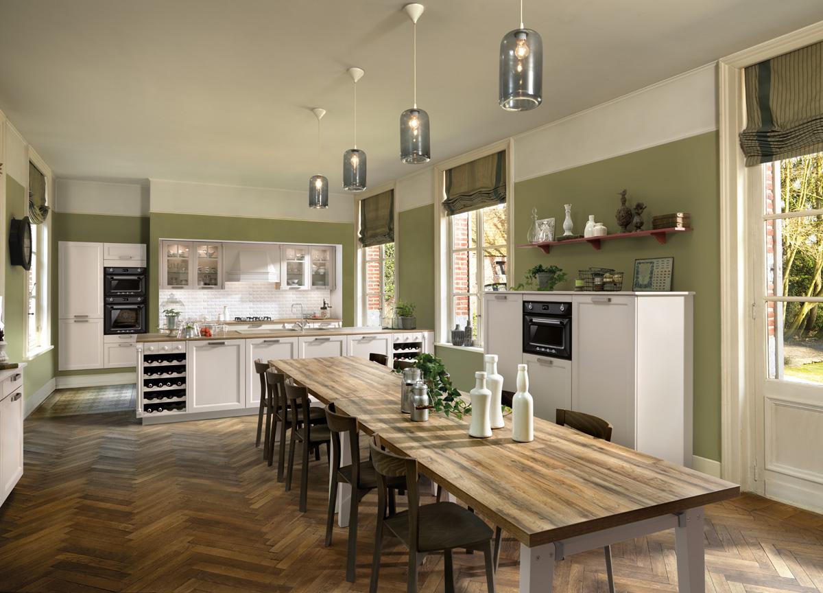 Küche Scarlett Vison im modernen Landhausstil › Schmidt Küchen und