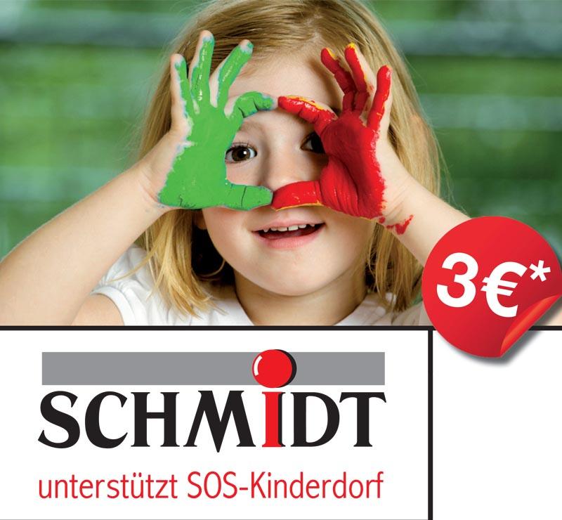 Schmidt Spende an SOS-Kinderdorf in Gera