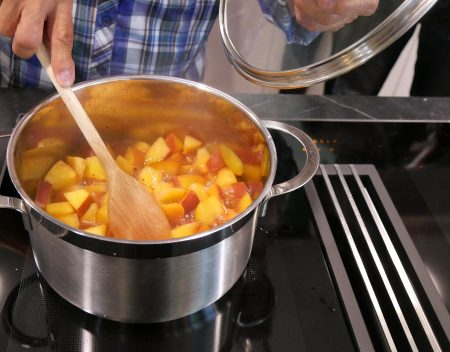 fruchtig-scharfe Soße zum Hauptgang