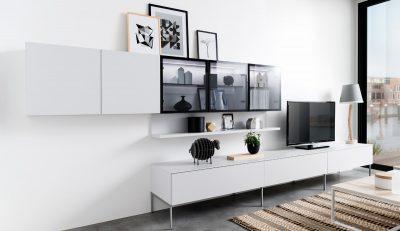Wohnwand und Lowboard