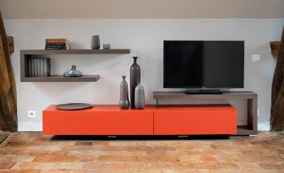 TV Möbel als farblicher Hingucker
