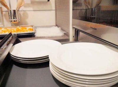 Wärmeschublade für Teller von Miele